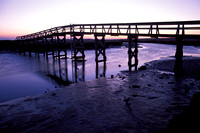 sandwich, Cape Cod, sunrise, boardwalk, bridge, water