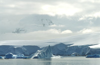 antarctica, clouds, glacier, ice, iceberg, landscape, ocean, scenic, travel, nature, ocean, sea, art, photo, photograph, photography