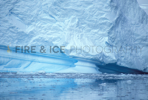 "antarctica, ice, iceberg, ""paradise bay"", waterline, blue, landscape, nature, art, photo, photograph, photography, travel, scenic"